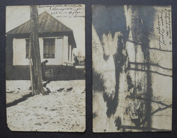 Kazakhstan City Verny – Alma-Ata Earthquake Of 1910 Year. Two Real Photos! - Kazakhstan