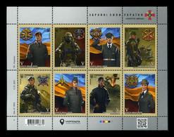 Ukraine 2021 Mih. 1948/55 (Bl.174) Ukrainian Ground Forces MNH ** - Ukraine