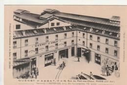 ***  75  *** PARIS   Guenet Et Abbat Rue Du Pont Aux Choux -  Neuve Excellent état PUBLICITE - Distretto: 03