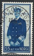 Norwegen Norway 1952. Mi.Nr. 377, Used O - Oblitérés