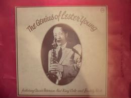 LP33 N°8239 - LESTER YOUNG & OSCAR PERTERSON & NAT 'KING' COLE & BUDDY RICH - 2683 058 - 2 LP' S MADE U.K. BEAU PLATEAU - Jazz