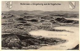 DC938 - Ak Radolfzell Bodensee Und Umgebung Aus Der Vogelschau - Radolfzell