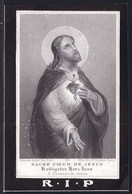 NOBLESSE - ADEL - IMAGE DECES * LEOPOLDINA  DE LICHTERVELDE 1801 ( Gand ) -1879 / VEUVE BURGGRAAF DESMAISIERES DE WAULT - Devotion Images