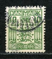DANEMARK : T. TAXE N° Yvert T20 Obli. - Postage Due