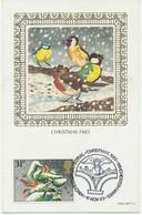 GB CHRISTMAS WINCHESTER CATHEDRAL CHRISTMAS 1983 WINCHESTER HANTS BENHAM MAXIMUM - 1981-1990 Dezimalausgaben