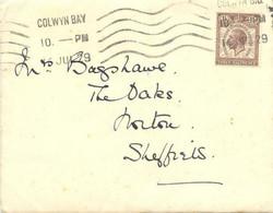 "GB 1929 Congress Of The Universal Postal Union (UPU) In London 1 1/2d MAJOR VARIETY: Broken ""S"" From ""CONGRESS"", Rare - Abarten & Kuriositäten"