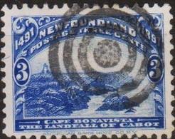 """Canada 1897 Regno Di Vittoria New Foundland MiN°46 """"three Cents"""" (o) Vedere Scansione - Ungebraucht"""