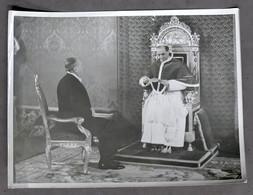 Fotografia Papa Pio XII Riceve Ambasciatore Americano Myrone Taylor - 1940 - Non Classificati