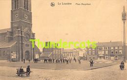 CPA LA LOUVIERE PLACE MAUGRETOUT - La Louvière
