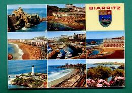 64 Biarritz ( Multivues, Blason, Baleine, Coquille Saint Jacques, Coquillage ) 010 - Biarritz