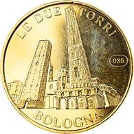 Italie, Jeton, 2004, Bologne - Les Deux Tours, SUP, Cupro-nickel Aluminium - Altri