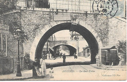 A/53          92     Asniéres Sur Seine       Les Deux Voutes  & Rue De La Marne - Asnieres Sur Seine