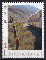 Nederland - 22 Maart 2021 - Tren A Las Nubes - Trein/train/Zug - MNH - Zegel 2 - Internationaal 1 - Personalisierte Briefmarken