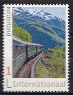 Nederland - 22 Maart 2021 - Flamsbana - Trein/train/Zug - MNH - Zegel 1 - Internationaal 1 - Personalisierte Briefmarken