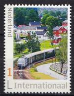Nederland - 22 Maart 2021 - Flamsbana - Trein/train/Zug - MNH - Zegel 2 - Internationaal 1 - Personalisierte Briefmarken