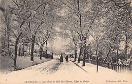 TLEMCEN - Marabout De Sidi-Bou-Djema, Effet De Neige. - Tlemcen