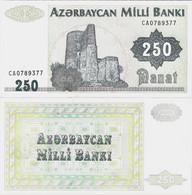 Azerbaijan ND (1992) - 250 Manat - Pick 13b UNC - Azerbaïjan