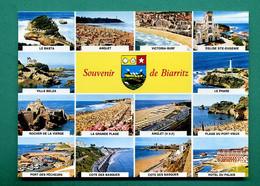64 Biarritz ( Multivues, Blason, Baleine, Coquille Saint Jacques, Coquillage ) 016 - Biarritz