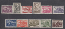 """Bulgaria 1946 - Serie """"Guerre Et Patrie"""", YT 478/88, Neufs** - Nuevos"""