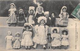 ¤¤   -  MATHA  -  Concours De Costumes De Poupées Le 14 Juillet 1908  -  Jeux, Jouets       -  ¤¤ - Matha