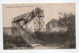 - CPA NOGENT-SUR-OISE (60) - La Passerelle 1918 (belle Animation) - Edition Vandenhove - - Nogent Sur Oise
