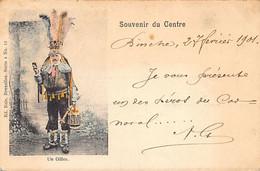 BINCHE (Hainaut) Un Gilles - Souvenir Du Centre - Ed. Nels Série 4 N. 12 - Binche
