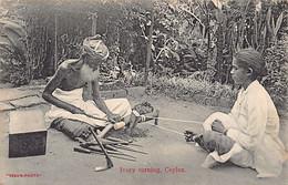 SRI LANKA - Ivory Turning - Publ. Skeen - Sri Lanka (Ceylon)