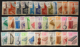 FR. 1987/1993 35 Timbres PREOBLITERES NEUFS** - Parf. Etat - 1989-....