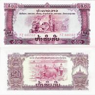 Laos ND (1975) - 50 Kip - Pick 22 UNC - Laos
