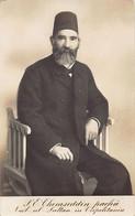 Libya - H.E. Mehmed Semseddin Pasa, Representative Of The Sultan In Tripolitania - REAL PHOTO. - Libia