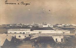 Libya - BENGHAZI - Bird's Eye View - REAL PHOTO Year 1913 - Libia