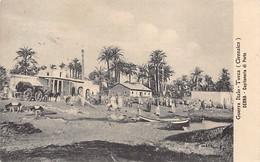 LIBYA - Italo-Turkish War - DERNA - The Harbour Office - Libia