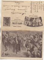 """Carte-Lettre """"patriotique"""" Durant La Guerre 14/18 - Patriottiche"""