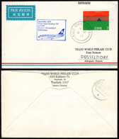 1974 Ireland To DUSSELDORF/Germany First Flight Cover (FFC) - Airmail