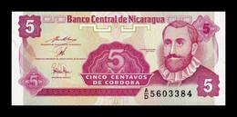 Nicaragua 5 Centavos De Córdoba 1991 Pick 168a Sign 2 SC UNC - Nicaragua