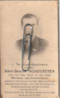 Oorlogsslachtoffer : 1944, Abel Schouteten, Goudezeune, Wervik, Ieper - Devotieprenten