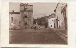 CPA - France - (85) Vendée - La Roche-Sur-Yon - Carte Photo - Place De La Vieille Horloge En 1898 - La Roche Sur Yon