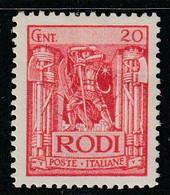EGEE : RHODES - N°17 * (1929) - Aegean (Rodi)