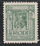 EGEE : RHODES - N°18 * (1929) - Aegean (Rodi)