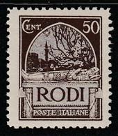 EGEE : RHODES - N°20 * (1929) - Aegean (Rodi)