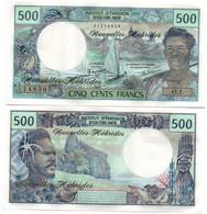 New Hebrides - 500 Francs 1979 Pick 19c UNC Lemberg-Zp - New Hebrides