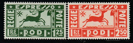 EGEE : RHODES - Timbres Exprès N°1/2 * (1936) - Aegean (Rodi)
