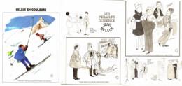 """"""" BELLUS COLOR """" + """" Les MEILLEURS DESSINS De BELLUS """" 1973  ( 3 ) - Sonstige"""