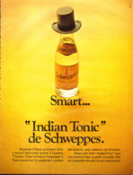 "PUB  "" SCHWEPPES  ""    1973  (3 ) - Perrier"