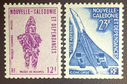 New Caledonia 1973 Mask & Aircraft Concorde Booklet Stamps MNH - Ungebraucht