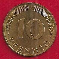 ALLEMAGNE 10 PFENNIG - 1970 - 10 Pfennig