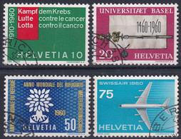 Suisse - 351-354 / Michel 692-695 - Usados