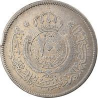 Monnaie, Jordan, Abdullah, 100 Fils, Dirham, 1949, TTB, Copper-nickel, KM:7 - Jordan