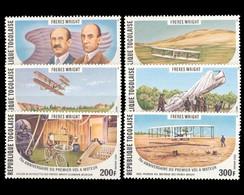 Togo, MiNr. 1270-1275 A, Postfrisch / MNH - Togo (1960-...)
