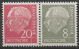 Deutschland (BRD), Michel Nr. W 23 Y I, Postfrisch - Se-Tenant